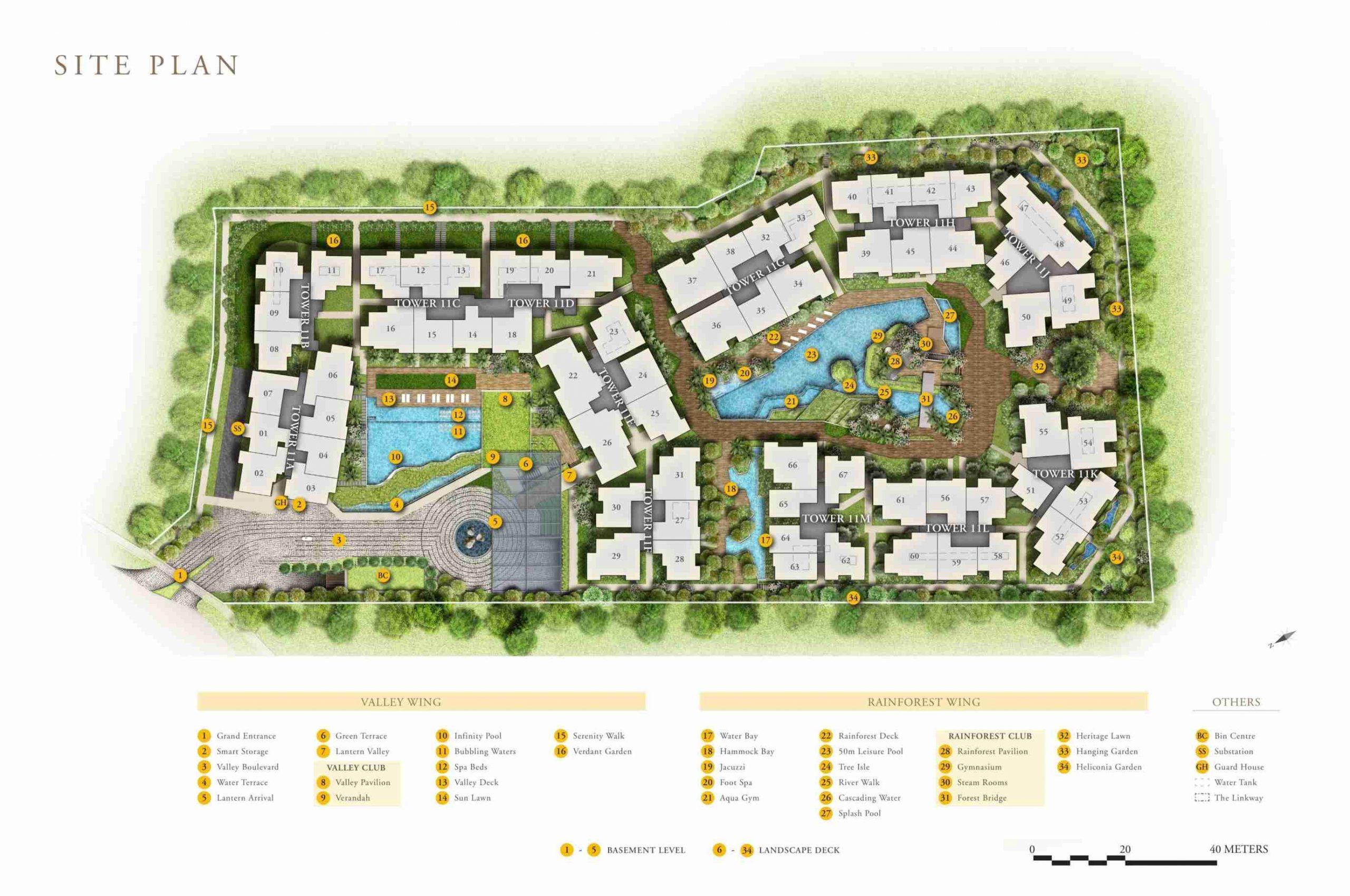 daintree-residence-siteplan